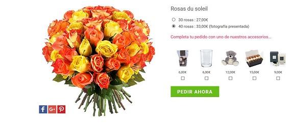 rosas dia de la madre amarillas