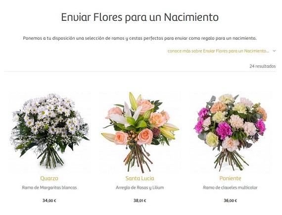 flores para hospitales por maternidad