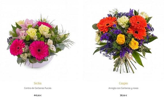 mejores floristerías a domicilio