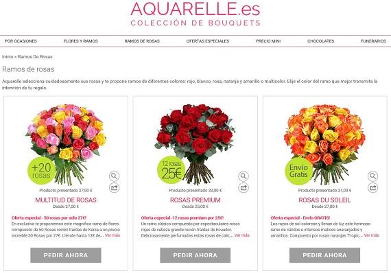 mejores floristerías baratas