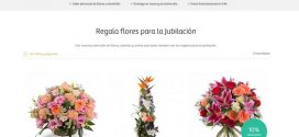 flores para jubilación