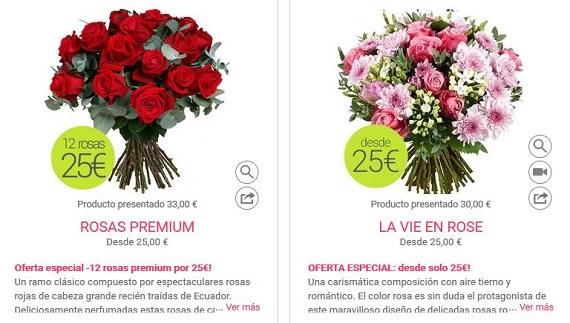 ofertas de flores baratas