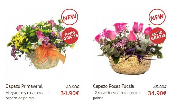 ofertas de flores online