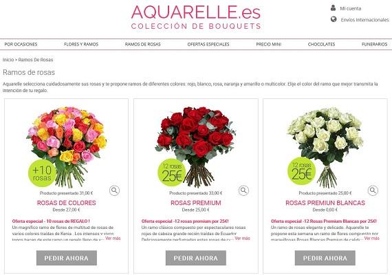 mejores tiendas online de flores