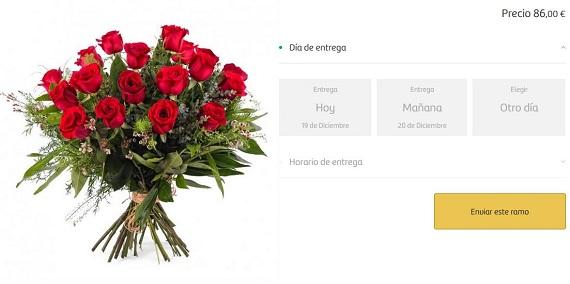 ramos de novia rosas rojas