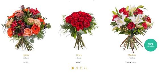 cuanto cuesta mandar flores