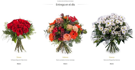 mandar flores barcelona